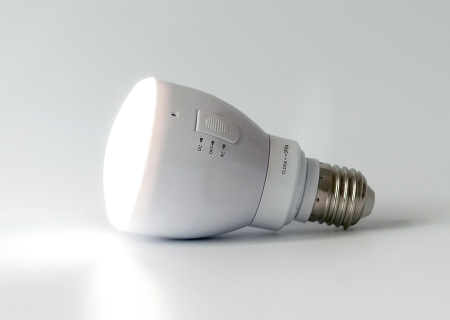 Rechargeable Led Bulb With Remote Controller Moorol